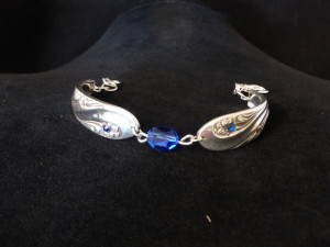 Bracelet made from spoon handles